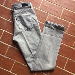 Levi's Jeans - Levi's gray denim